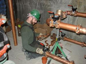 we do commercial repiping